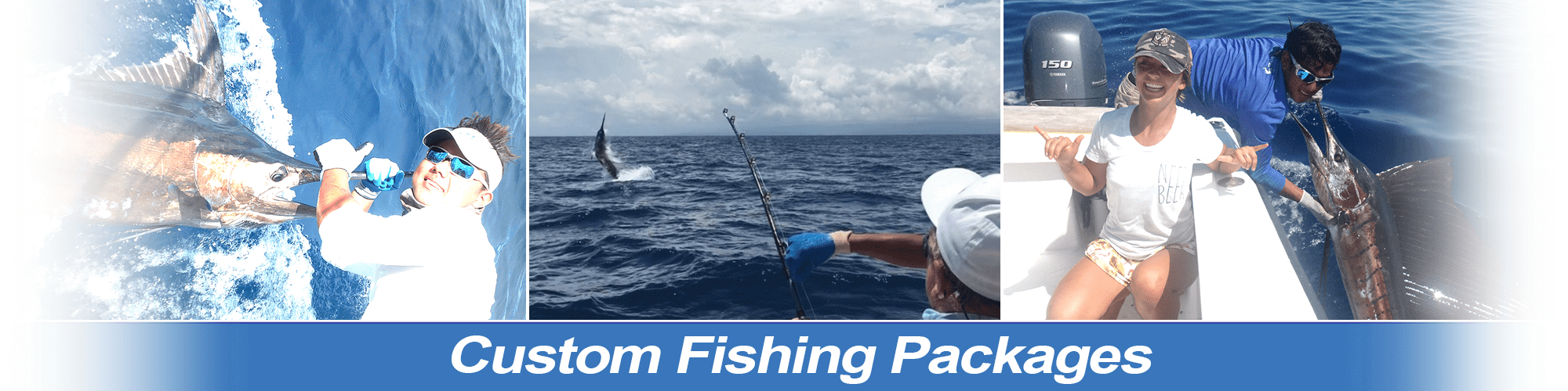Custom Fishing Packages